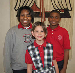 Mother Brunner Catholic School Students